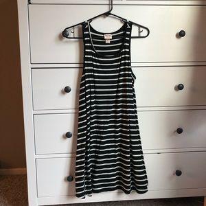 Dresses & Skirts - Black & White Stripe Dress